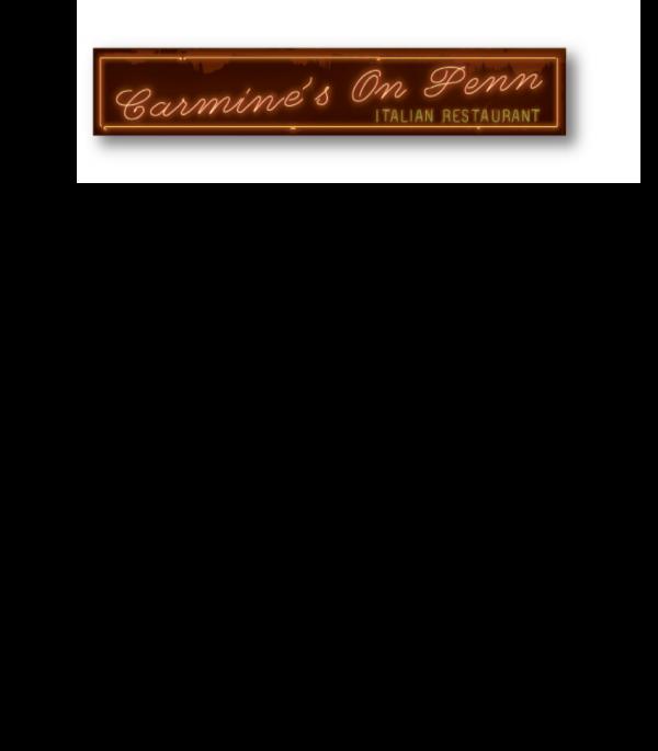 Carmine's at Home menu - Please call us 720-441-6613